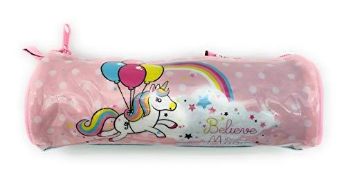Estuche, Estuches escolares, Estuche unicornio, tamaño ideal para guardar lo necesario para el colegio.