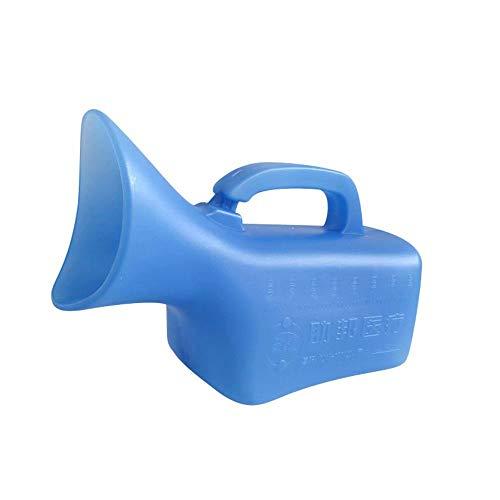 AUCO Tragbare Urinale - Unisex-Inkontinenz-PIPI-Flasche Aus Klarem Kunststoff, Medizinische GeräTe, UrinsammelgeräT, Auslaufsicheres GeräT, Tragbare Urinflasche