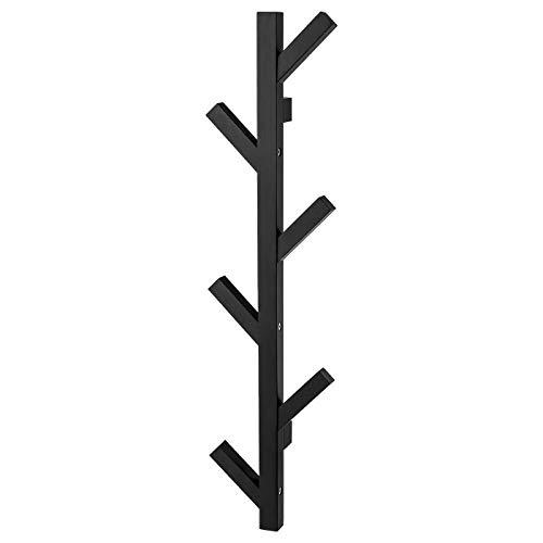 My Stylo Collection Percha, Negro, 78 cm, Madera maciza, Tamaño del producto: Ancho: 19 cm Profundidad: 7 cm Altura: 78 cm, Materiales Madera Sólida, Pintura Acrílica