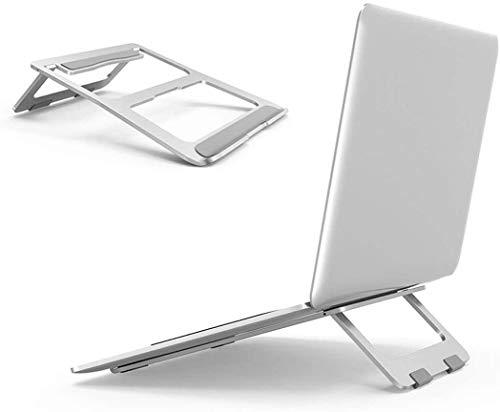 ノートパソコン スタンド 人体工学デザイン 手首に優しい 体への負担軽減 安定性良い コンパクト 折りたたみ ノートPCスタンド 軽量持ち運び便利 滑り止め 放熱効果 アルミ合金 耐久性 iPad Pro MacBook/Sony/東芝/HP/ASUS/SAMSUNG 対応 2020改良版
