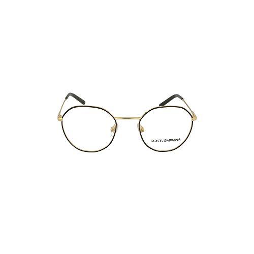 Dolce & Gabbana Gafas de vista 1324 1334 50/21/140, dorada/trasera de metal