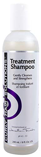Curly Hair Solutions Treatment Shampoo | 8oz/240ml | Gently Cleanses and Strengthens