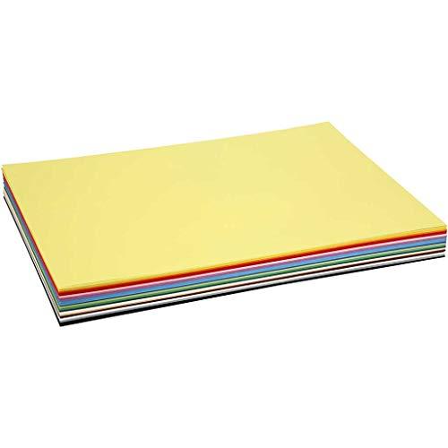 Kraftkarton, A2, 42 x 60 cm, 180 cm, verschiedene Farben, 20 Bögen