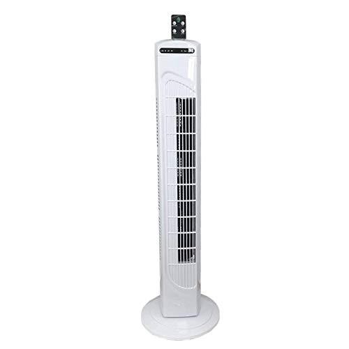 KUCE Ventilador de Torre, Oscillating Ventilador de torre,Oscilación Ajustable a 70°,Temporizador 7.5h,3 niveles de velocidad,Salida de aire de 460 mm de largoBajo Consumo, Ligero