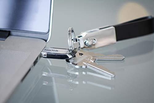 SanDisk Ultra Flair 64GB USB-Flash-Laufwerk USB 3.0 mit bis zu 150 MB/Sek, schwarz