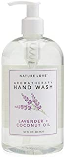 Nature Love Aromatherapy Lavender and Coconut Oil Hand Wash 16.9 oz