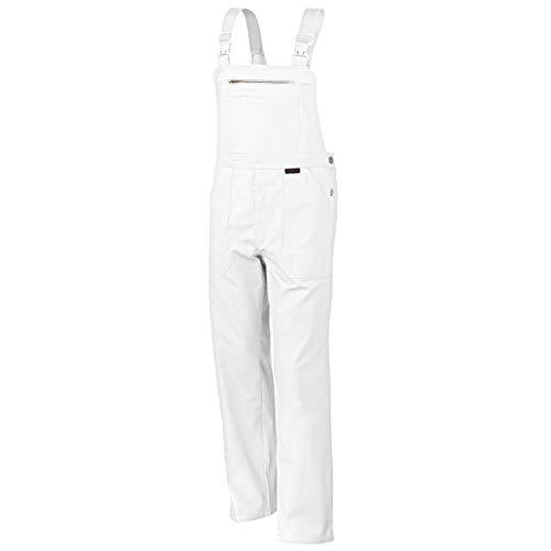 Latzhose QUALITEX 270, Weiß, Größe 54
