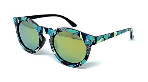 VENICE EYEWEAR OCCHIALI Gafas de sol Polarizadas para niño o niña - protección 100% UV400 - Disponible en varios colores (Artist)