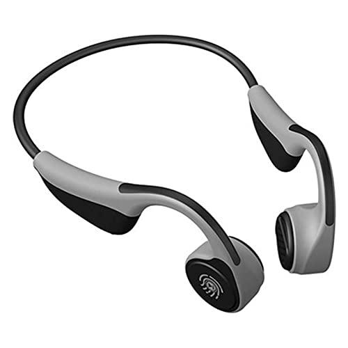 HKJZ SFLRW Auriculares de conducción ósea Bluetooth 5.0 Auriculares Deportivos inalámbricos STREEO STREETEPIENTE con MICO para Correo (Color : B)