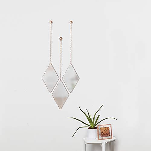 Trio of Decorative Mirrors for Wall Decor