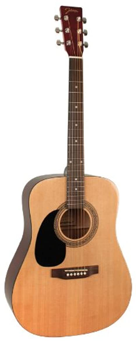 洞察力強度受け入れたJohnson ジョンソン JG-624-N 620 Player Series アコースティックギター, レフトハンドモデル レフティ 左利き アコースティックギター アコギ ギター (並行輸入)