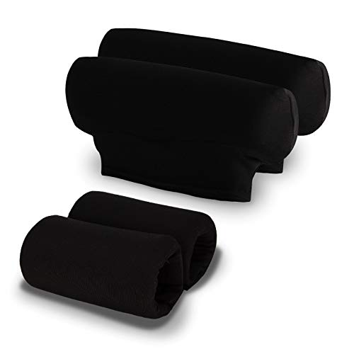 Unisex Underarm Padded Covers and Hand Grip Foam Pads Fits Standard Crutch for Walking Accessories