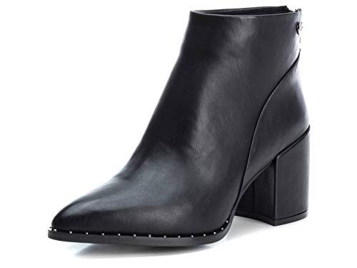 XTI Damen 35117 Kurzschaft Stiefel, Schwarz (Negro Negro), 36 EU