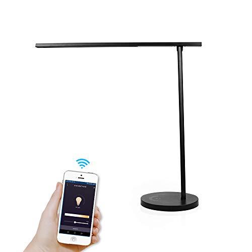 lampada da scrivania wifi google BENEXMART Smart WiFi LED Lampada da tavolo Lavora con Alexa Sari Echo Dot Google Home Tavolo Light Touch Control Light Office
