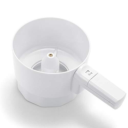 Ghair2 Elektrisches Mehlsieb aus Kunststoff, elektrischer Mehlsieb in Handform, mechanisches Sieb, Pulversieb für Zuckergusszucker