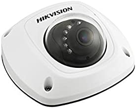 Hikvision DS-2CD2542FWD-IWS (4MM) Compact Mini Dome Network Camera, 4MP, 4 mm Lens, WiFi, Day/Night, Wide Dynamic Range, IR to 30M, 3 Axis Gimble