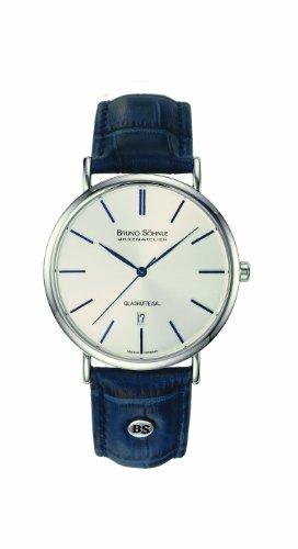 Bruno Söhnle Herren Analog Quarz Uhr mit Leder Armband 17-13085-243
