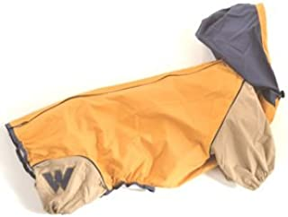 WHCY ペットグッズ 犬用品 ドッグウェア レインコート JコートB 0091W106 マスタード M サイズ