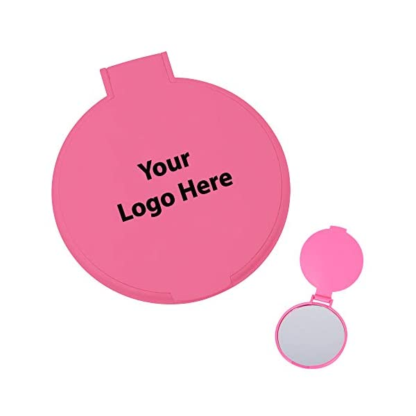 Round Mirror – 250 Quantity – $0.80 Each – PROMOTIONAL PRODUCT/BULK/BRANDED...