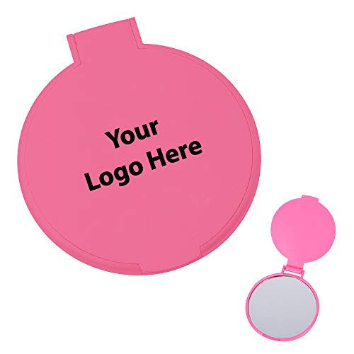 Round Mirror – 250 Quantity – $0.80 Each – PROMOTIONAL PRODUCT/BULK/BRANDED with YOUR LOGO/CUSTOMIZED