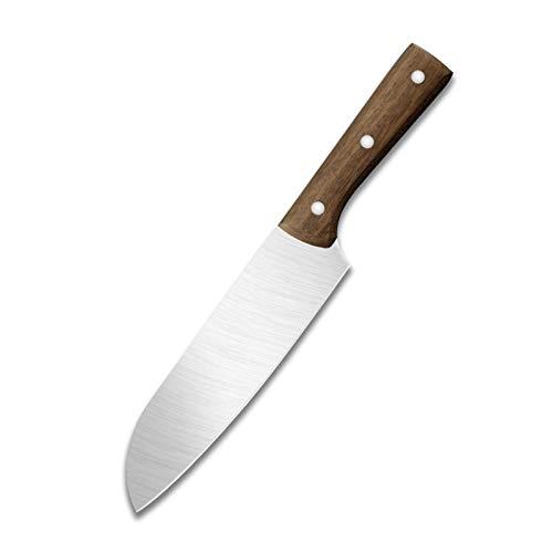 Tajado cortando cuchillos de cocinero Conjunto 4CR13MOV Sistema de cocción de acero inoxidable Juego de cuchillas de alta dureza Herramientas de cuchillo de carnicería (Color : Chef Knife)