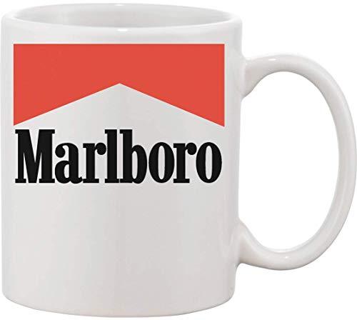 Epicwinclothing Marlboro Cigarettes Ceramic Mug