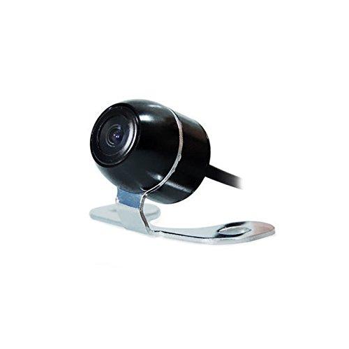 Farb-Rückfahrkamera/Frontkamera mit Distanzlinien (Schwarz), 16mm, 170° Weitwinkel, NTSC, CCD Sensor