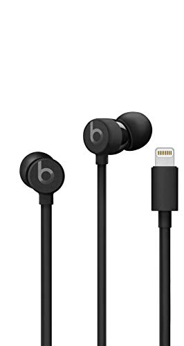Urbeats3 Wired Earphones With Lightning Connector - Tangle Free Cable, Magnetic Earbuds, Built In Mic And Controls - Black