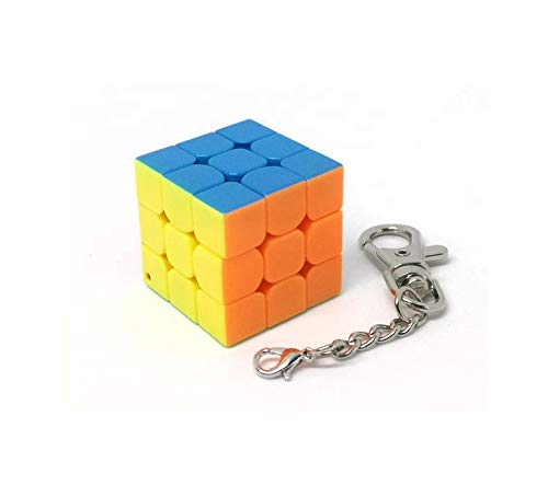 MoYu Llavero Cubo Rompecabezas 3x3x3 stickerless (3 cms)