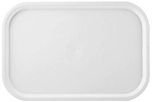 Giganplast Vassoio Gilly 57X38 Gig 8500 Arredo Tavola, Bianco, 57x38 cm