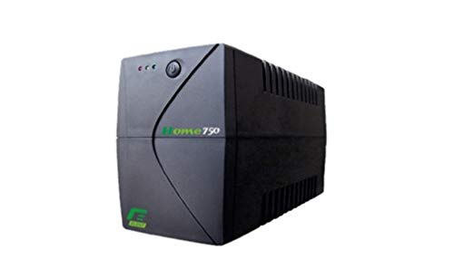 Elsist Gruppo di Continuità Home, Line-Interactive Monofase, Protezione PC Monitor Decoder Modem, Domestico Piccoli Uffici, Autonomia 10