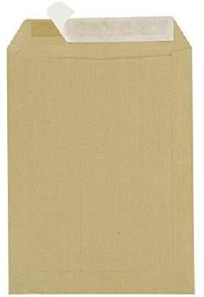 Lot de 100 Grande enveloppe pochette courrier A4 - C4 papier kraft MARRON 90g format 229 x 324 mm Pochette kraft brune auto-adhésive fermeture bande adhésive autocollante siliconée UGENVC4M