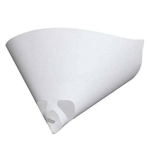 lymty 50PCS Micron Papier Strainer Konische Strainer Filter Spitze Papier Nylon Mesh Kegel Filter Sieb für Farbe, Automobil