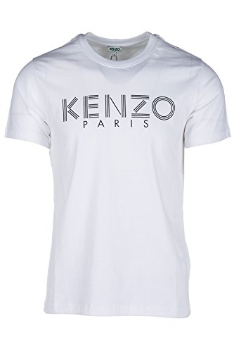 Kenzo 5TS092 Paris Herren T-Shirts (Weiß, M)