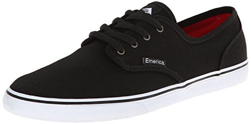 Emerica Men's Wino Cruiser Skateboarding Shoe, Black/White, 13 M US
