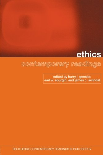 Ethics, Contemporary Readings (Routledge Contemporary Readings in Philosophy)