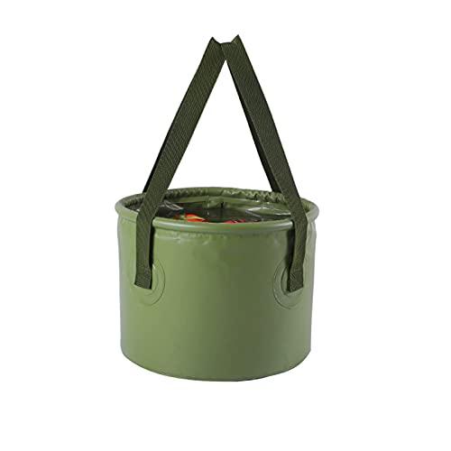 Cubo de almacenamiento de agua plegable, cubo plegable de camping, cubo de agua plegable para camping, lavabo, cubo plegable para camping (7 L)