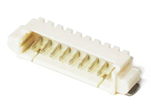 Molex 53261-0971 PicoBlade 9-Pin 1.25mm Male Header Connector SMD Stiftleiste (Generalüberholt)
