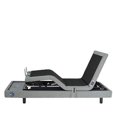 Glideaway Odessa Adjustable Bed with Voice Activated Alexa Technology and Elevate Lift Motor (Queen)