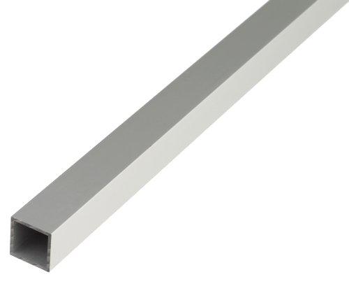 GAH-Alberts 473532 Vierkantrohr | Aluminium, silberfarbig eloxiert | 1000 x 20 x 20 mm