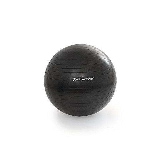 AFH-Webshop Therapie Gynmastikball, schwarz, 75 cm