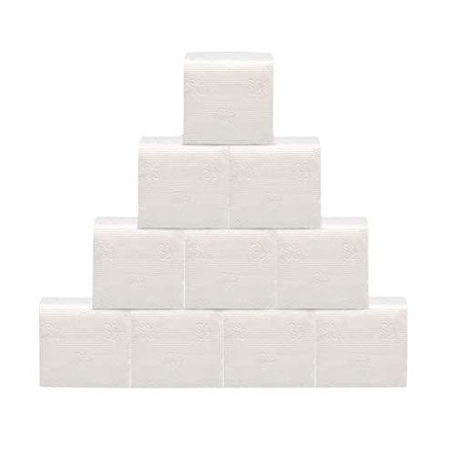 ღJiaMeng Papier zeichnen Toilettenpapier Wc Papier Tolettenpapier Toilettenpapier 3 Lagig,Badezimmer Küche Toilette Seidenpapier Abbaubares Rollenpapier - Für Werkstatt Restaurant Weiß