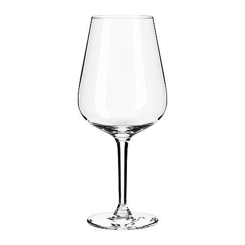 IKEA HEDERLIG -Rotweinglas Klarglas - 60 cl