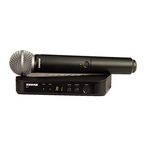 Shure BLX24BR/SM58-J10 Microfone sem Fio PG58 para Vocais