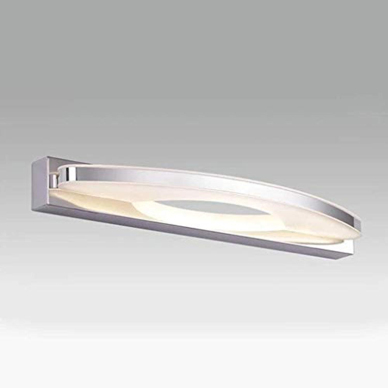 Bad Beleuchtung LED-Spiegel Scheinwerfer, moderne Wasserdichte Nebel Wandleuchte Badezimmer Badezimmer Spiegelschrank Make-up-Leuchten (Farbe  Weies Licht-7W 39 CM)