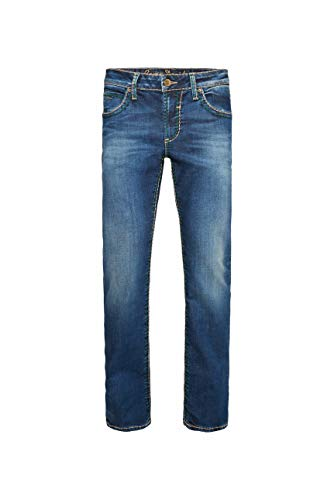 Camp David Herren Bootcut Blue Jeans