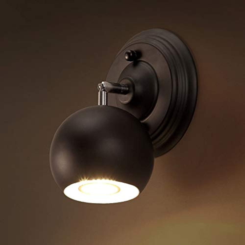 Wandleuchte Retro American Industrial kreative Bügeleisen personalisierte Restaurant Coffee Shop Schlafzimmer Nachttischlampe Led