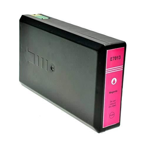 T7013 Cartuccia compatibile Magenta per Epson Workforce Pro WP-4015 4025 4095 4515 4525 4535 4545 4595