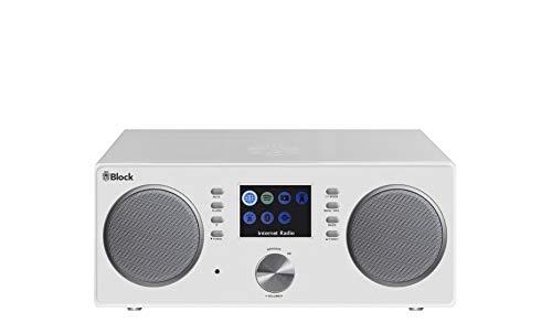 Block System Micro Hifi cr-20W Leistung 2x 5W schwarz