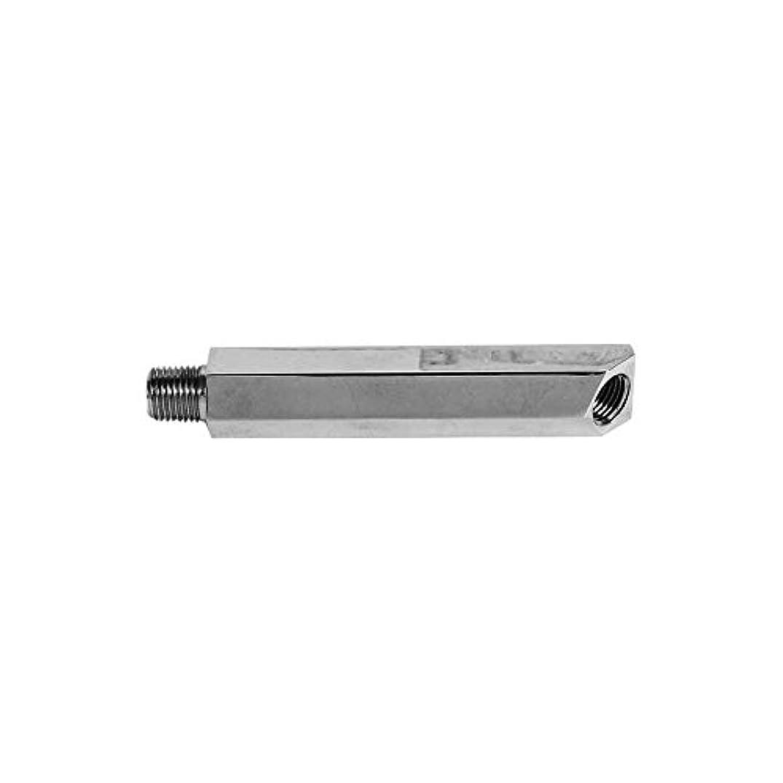 MACs Auto Parts 44-34792 Oil Pressure Sending Unit Extension - Chrome Plated - V8 With Oil Pressure Gauge